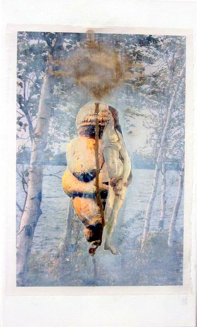 (c) Lumi Divinior by Gunilla Göttlicher: Schon mehr geerdet, Serie Bäume, 2014–16