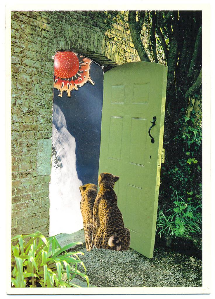 (c) Lumi Divinior by Gunilla Göttlicher, Neue Welten, Serie Türen, 2009